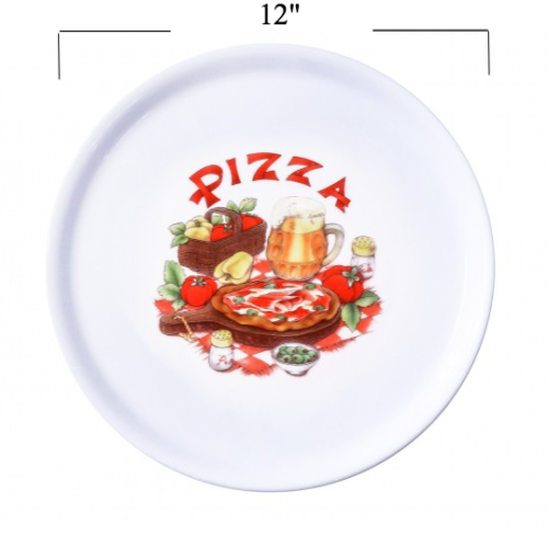 Porcelain Pizza Plates